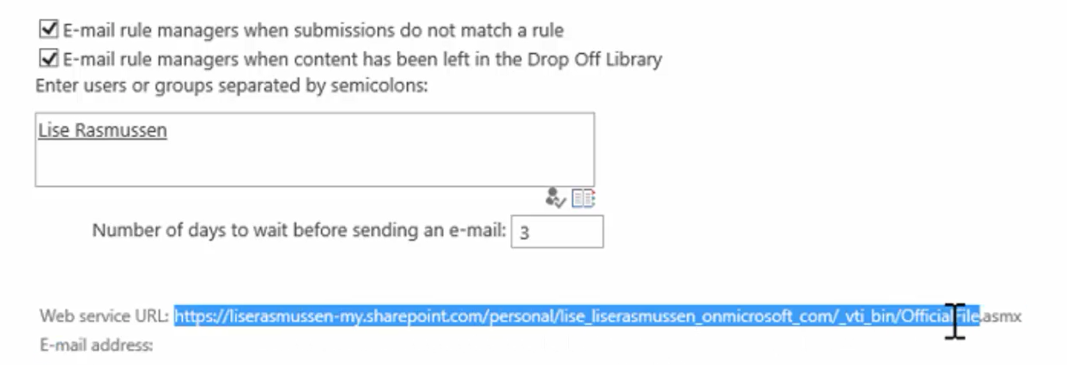 Send a document to your OneDrive | SharePointBabe