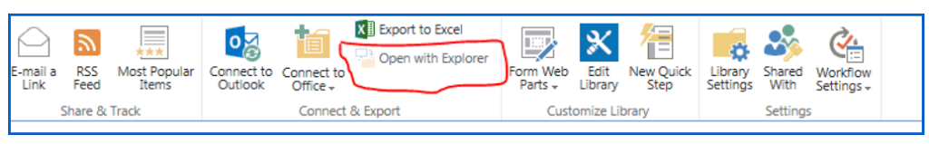 """SOLVED: """"Open with explorer"""" disabled in IE11"""